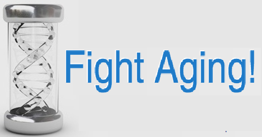 Fight aging logo partner blog